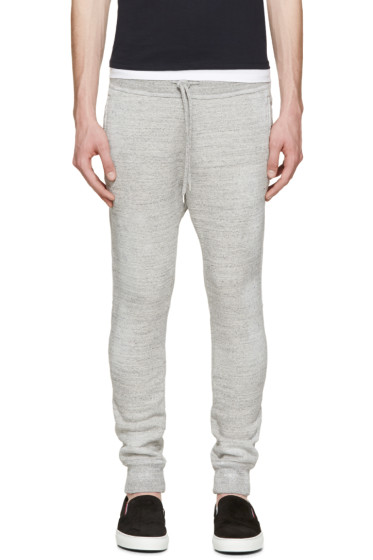 Dsquared2 - Grey Distressed Lounge Pants