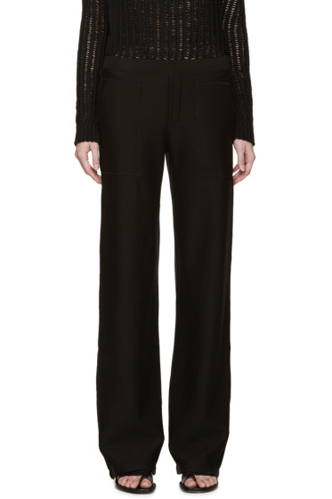 Helmut Lang - Black French Terry Lounge Pants