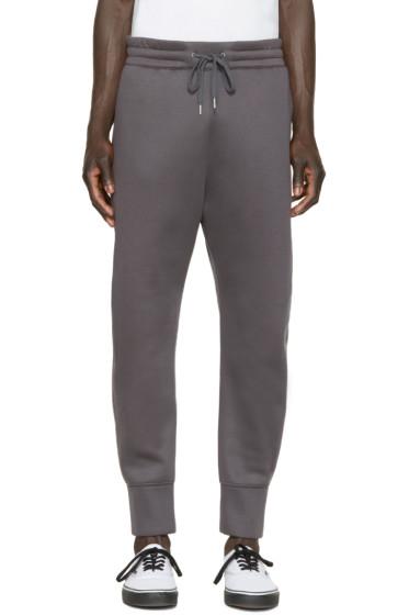 Helmut Lang - Grey Neoprene Lounge Pants