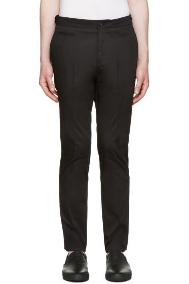 Helmut Lang - Black Slim Trousers