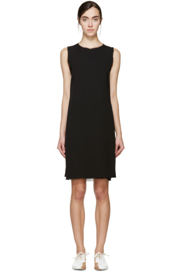 Maison Margiela - Black Open-Back Dress