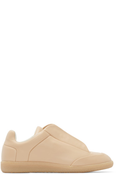 Maison Margiela - Beige Leather Future Sneakers