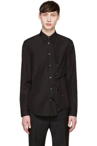 Maison Margiela - Black Studded Shirt