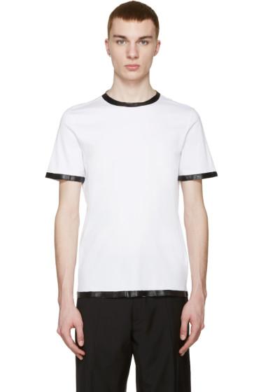 Maison Margiela - White Coated T-Shirt