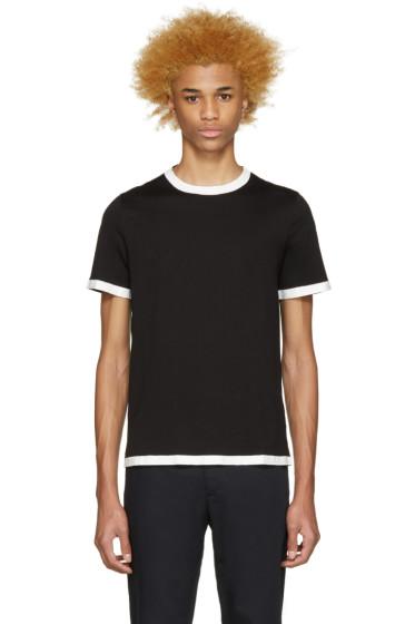 Maison Margiela - Black Painted Seams T-Shirt