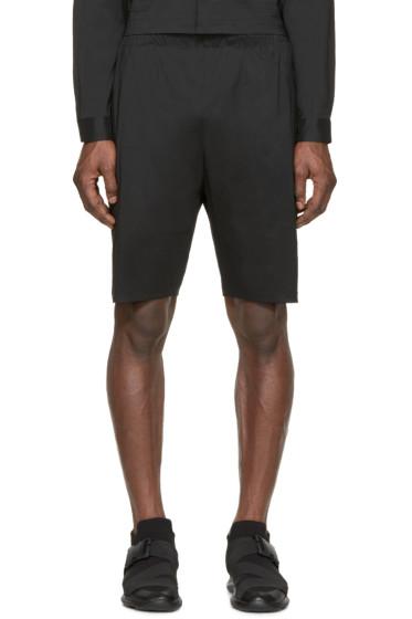 Christopher Kane - Black Technical Shorts