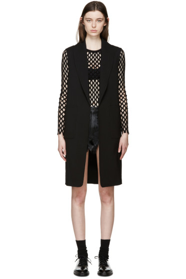 Alexander Wang - Black Wool Oversized Vest
