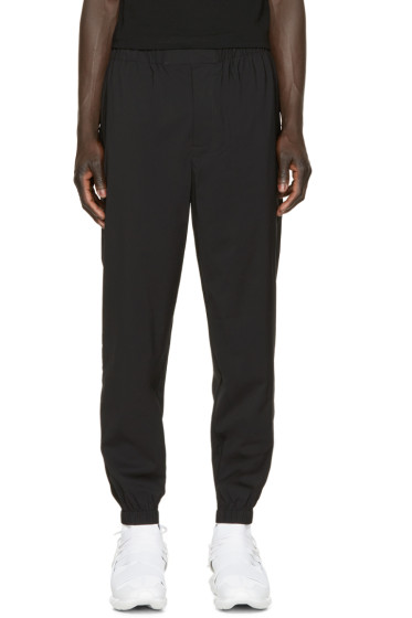 Alexander Wang - Black Wool Track Pants