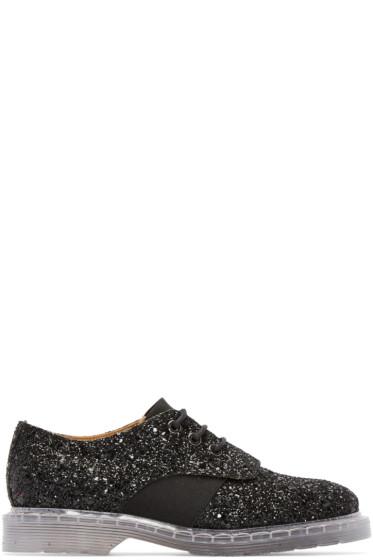 MM6 Maison Margiela - Black Glitter Derbys
