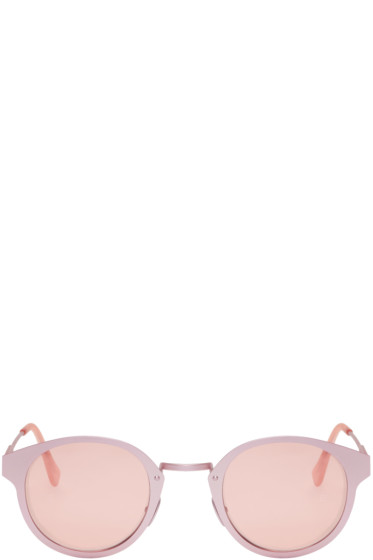 Super - Pink Panamá Synthesis Sunglasses
