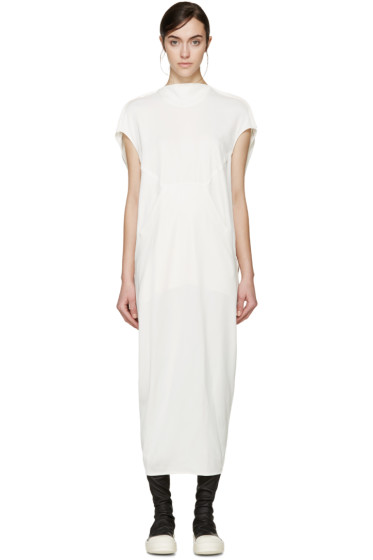 Rick Owens - White Floating Dress