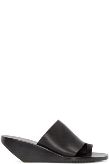 Rick Owens - Black Octavia Sliver Sandals