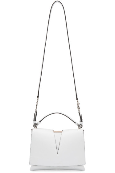 Jil Sander - White Small View Shoulder Bag