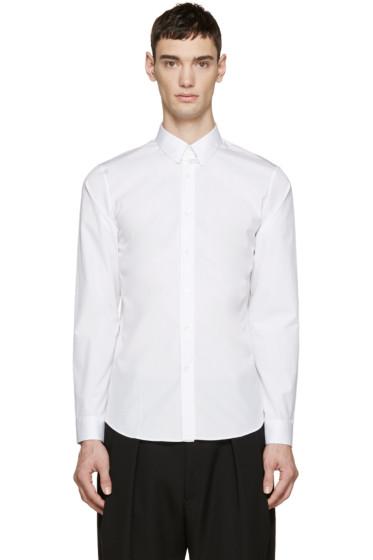 Jil Sander - White Poplin Shirt
