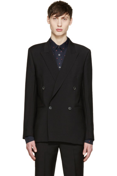 Paul Smith - Black Peaked Lapel Blazer