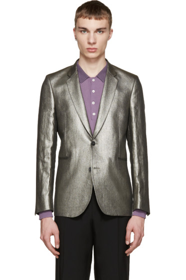 Paul Smith - Silver Linen Blazer