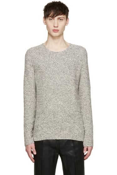 Paul Smith - Grey Melange Crewneck Sweater