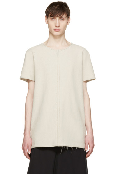 Damir Doma - Beige Hemp Tala T-Shirt