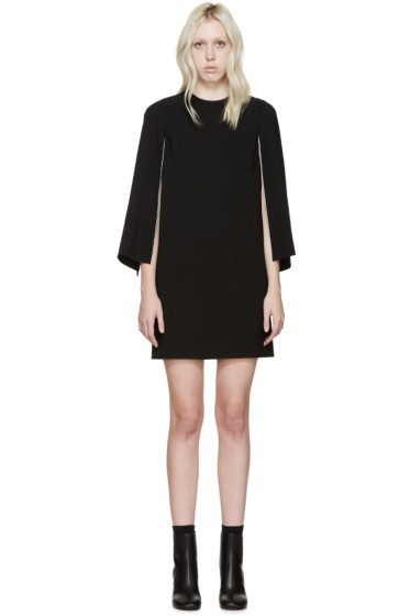 Givenchy - Black Open Sleeve Dress
