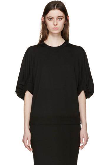 Givenchy - Black Oversized Sleeves Sweater