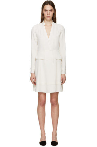 Proenza Schouler - Ivory Crepe Tie Dress