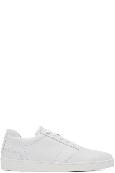 Want Les Essentiels - White Lennon Low-Top Sneakers