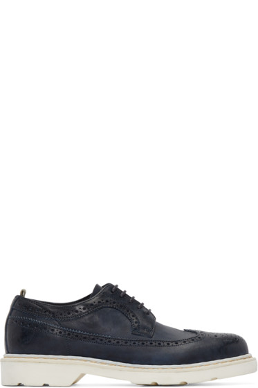 Officine Creative - Navy Pigalle Brogues