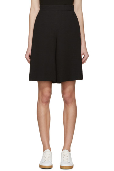 See by Chloé - Black Textured Shorts