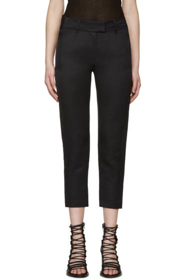 Ann Demeulemeester - Black Keating Trousers