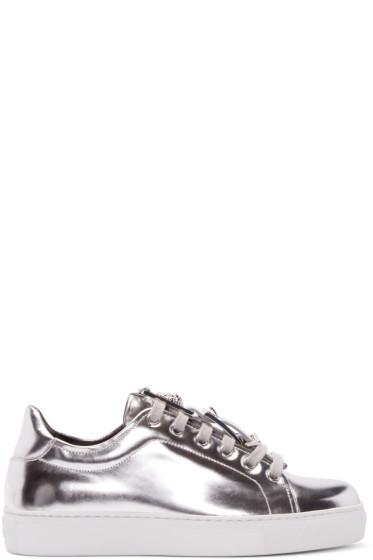 Versus - Silver Low-Top Sneakers