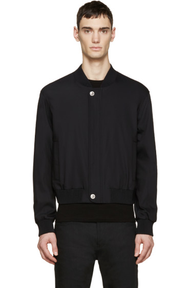 Versus - Black Bomber Jacket