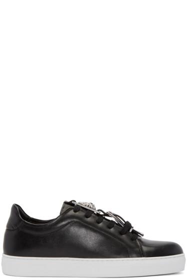 Versus - Black Accent Strap Sneakers
