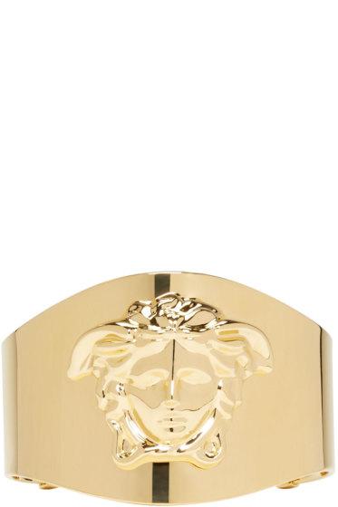 Versace - Gold Medusa Cuff
