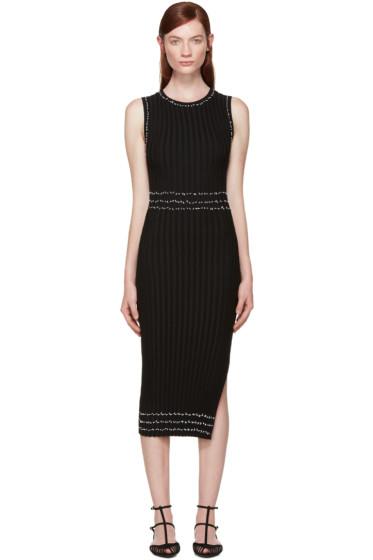 Altuzarra - Black Knit Samurai Dress