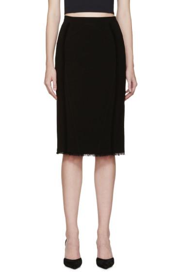 Altuzarra - Black Pencil Miro Skirt
