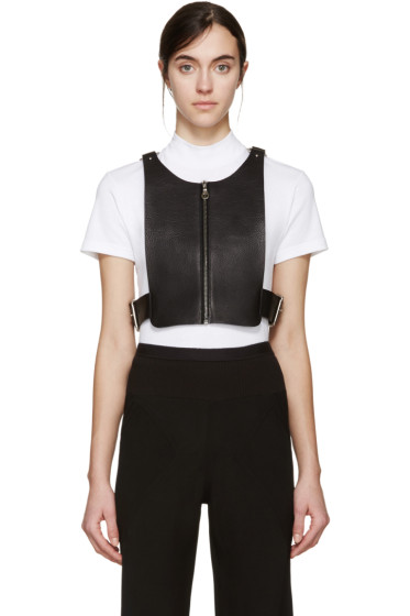 Fleet Ilya - Black Leather Box Top Harness