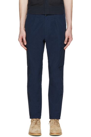 Nanamica - Navy Cargo Trousers