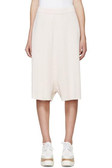 Stella McCartney - Pink Rib Knit Shorts
