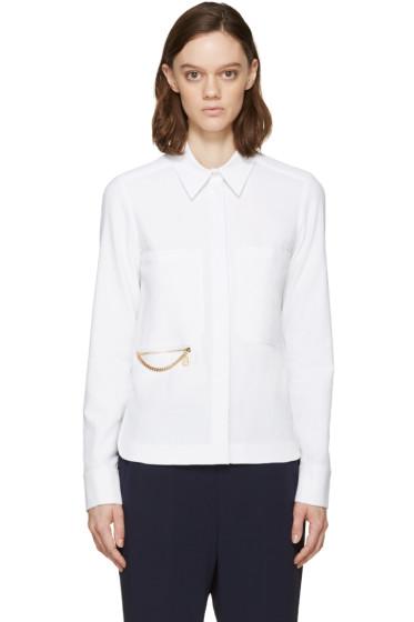 Stella McCartney - White Falabella Faith Shirt