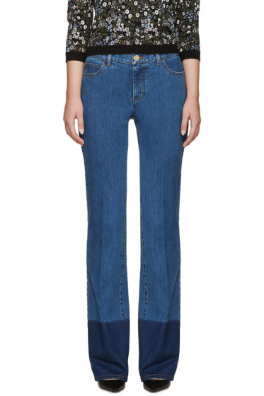 Valentino - Blue Flared Jeans