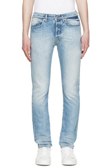 Valentino - Blue Washed Slim Jeans