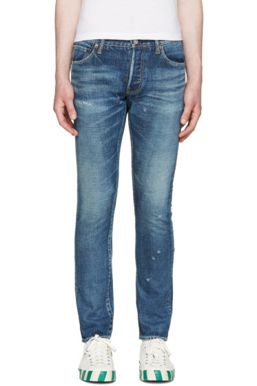 Visvim - Blue Social Sculpture Jeans