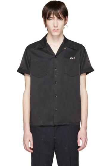 Visvim - Black Embroidered Irwing Shirt
