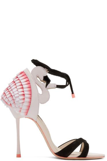 Sophia Webster - Pink Flamingo Frill Heels