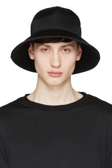 Facetasm - Black & Navy Mesh Bucket Hat