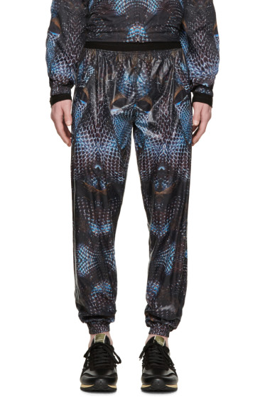 Marcelo Burlon County of Milan - Black & Blue Potosi Lounge Pants