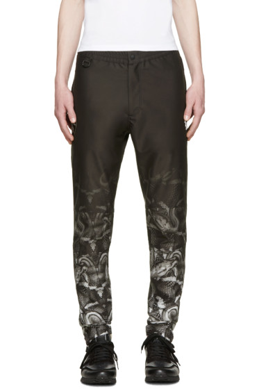 Marcelo Burlon County of Milan - Black Lamborghini Snake Trousers