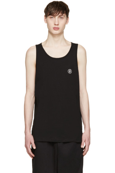 Marcelo Burlon County of Milan - Black Staff Tank Top