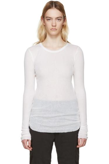 Haider Ackermann - Ivory Montivipera T-Shirt