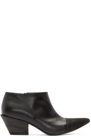 Haider Ackermann - Black Leather Varukers Boots
